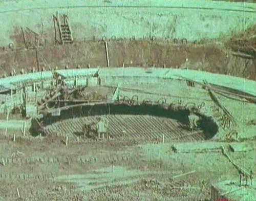 Останкинская башня. 1963-67 г.г.