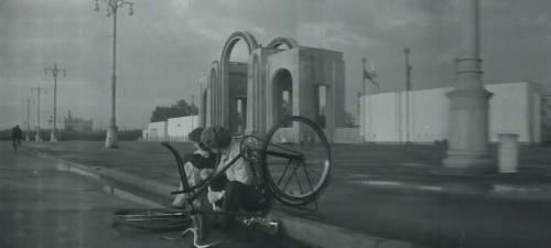 Октябрьская пл. ВДНХ. 1957 г.