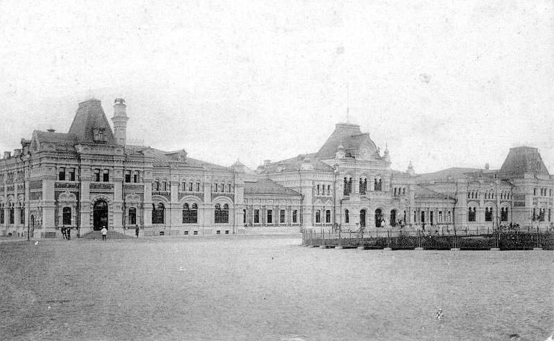 История московских вокзалов часть 2